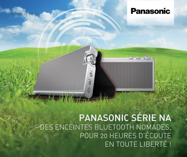 Dossier de presse Panasonic série NA