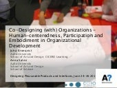 Design Methods in Organizational Development