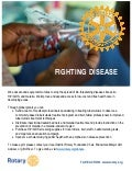The Cause You Care About - Disease Prevention and Treatment Handout