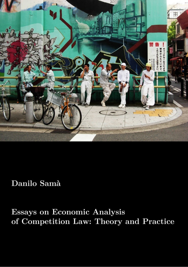 danilo sam atilde nbsp essays on economic analysis of competition law theory