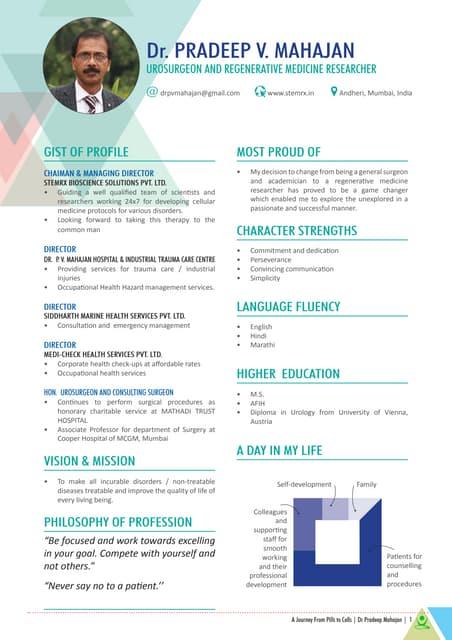 Dr  Pradeep Mahajan Profile