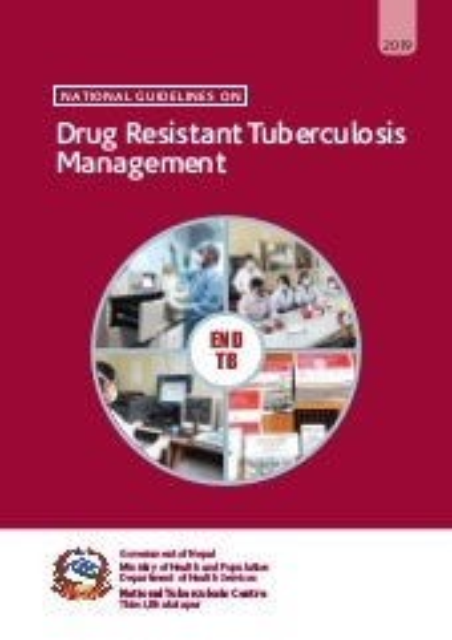 Drug Resistant Tuberculosis Management Guideline