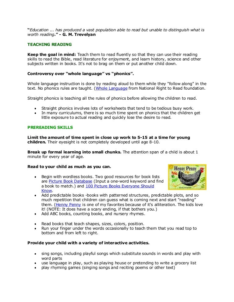 READING READINESS – Reading Readiness Worksheets
