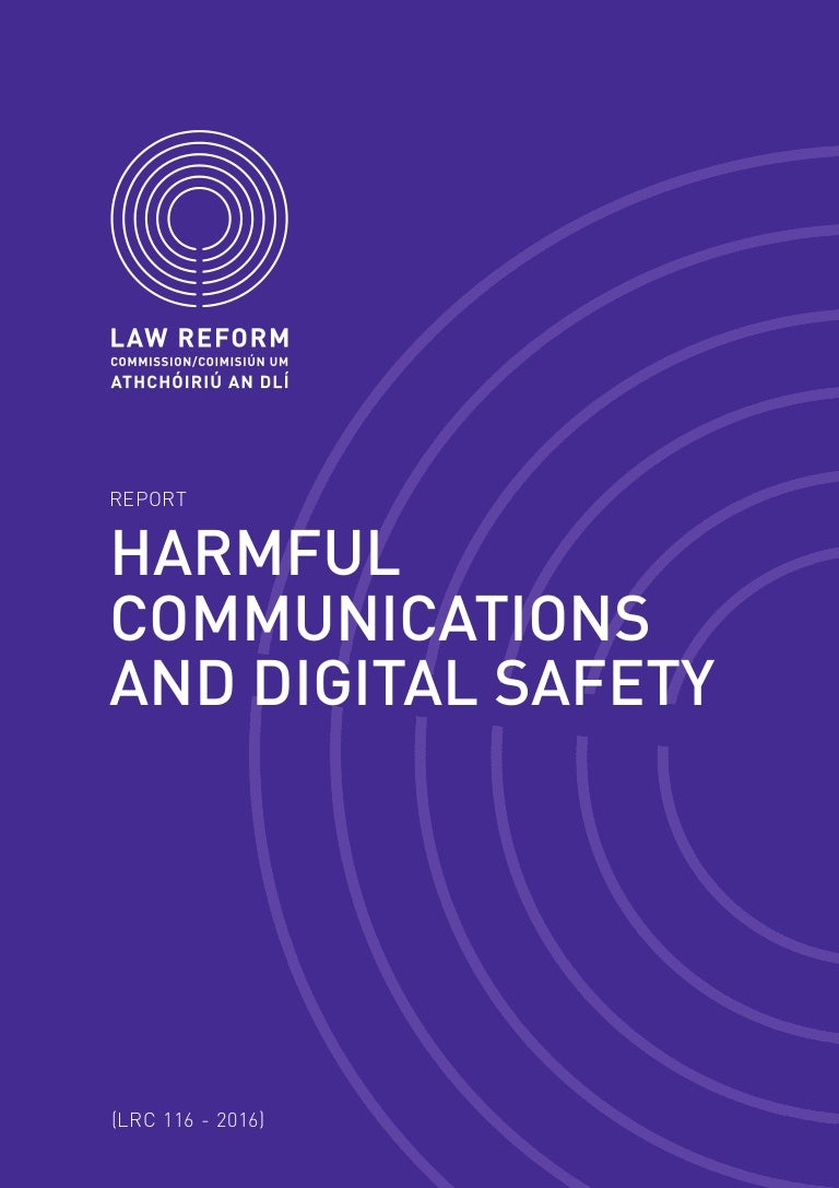 An Indecent Obsession 1985 draft report on harmful communications and digital safety in