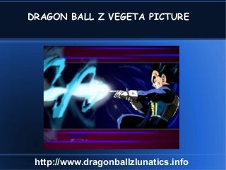 Dragon Ball Z Vegeta Picture
