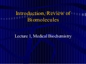 Introduction to Medical Biochemistry