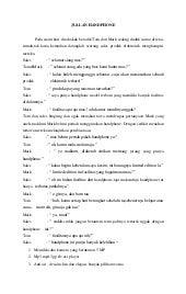 Drama 3 Orang Sunda