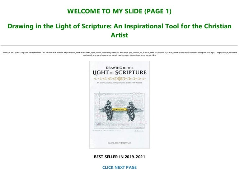 Free [READ] Drawing in the Light of Scripture: An Inspirational Tool for the Christian Artist Full Books