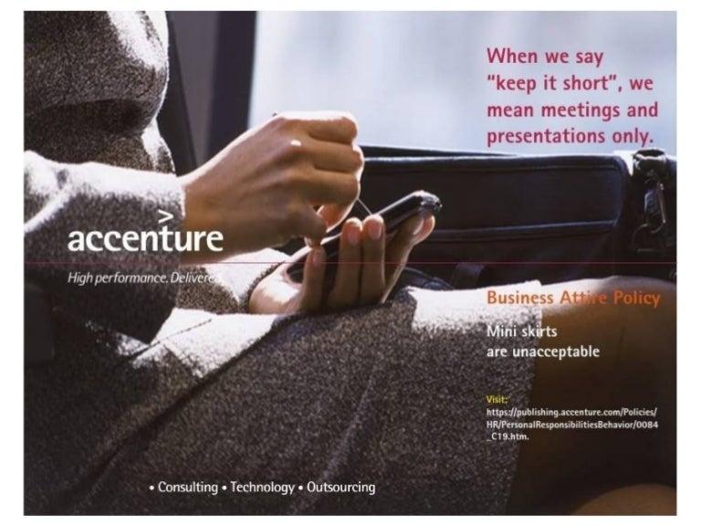 Dresscode Accenture