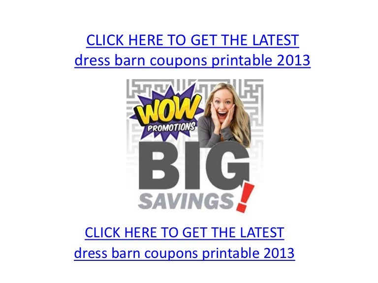 graphic regarding Dress Barn Coupon Printable named Costume barn discount codes printable 2013