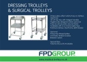 Dressing & Surgical Trolleys Brochure