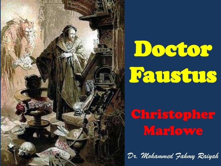 Dr faustus essays
