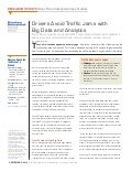 Drivers Avoid Traffic Jams with Big Data and Analytics