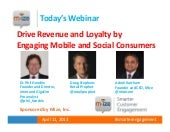 Driving Revenues and Building Customer Loyalty Webinar Slides