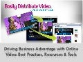 Driving Business Advantage With Online Video Marketing