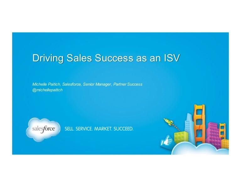 DF13_Driving Sales Success as an ISV Partner
