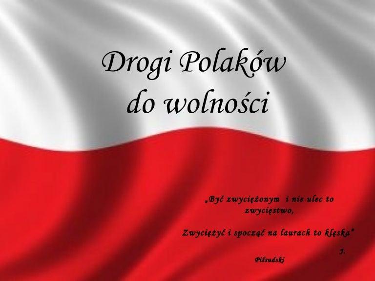 Drogi Polaków Do Wolności