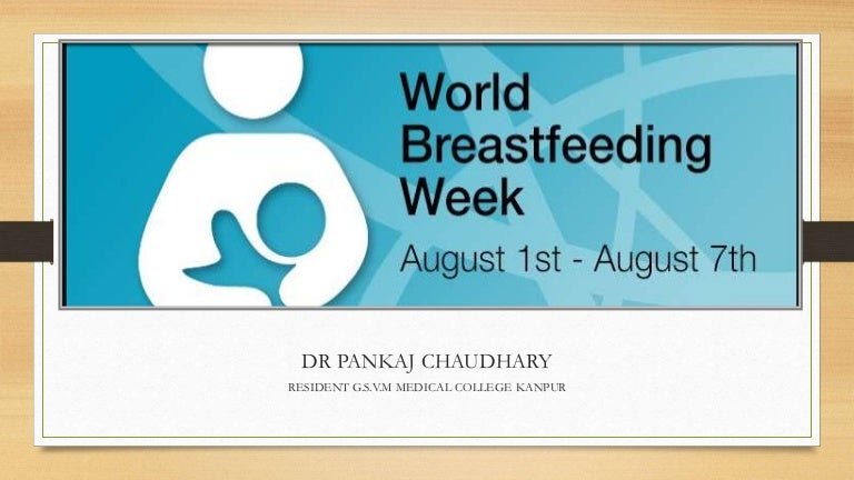 World Breast Feeding Week 2019