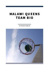Malawi Queens Team Bio