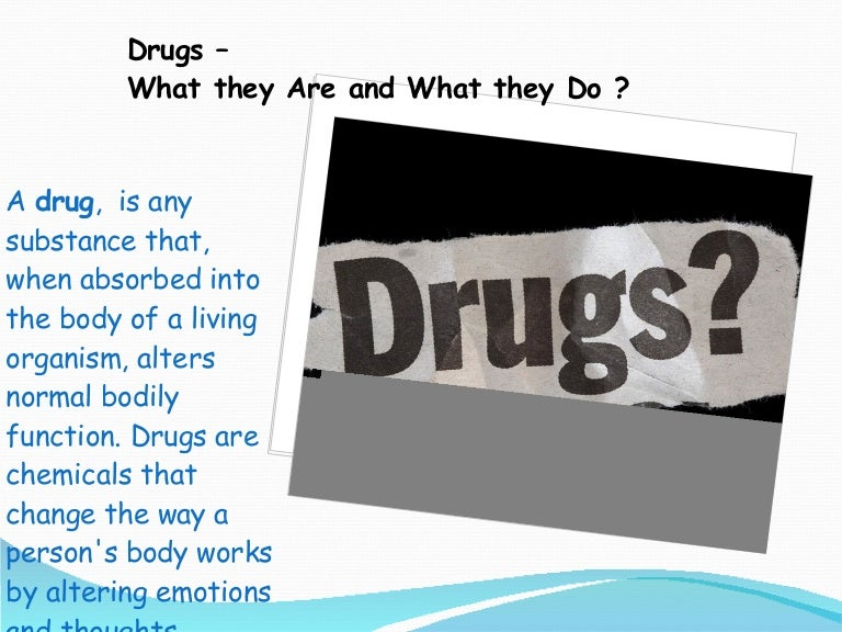 drug abuse ppt