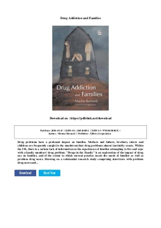 Drug Addiction Help For Families