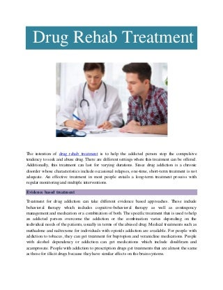 Drug Rehab Near Me And Get Rich