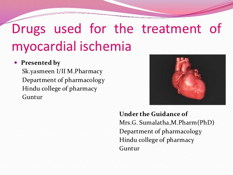 What types of medical treatment are available for cardiac ischemia?