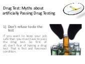how to easily pass a drug test