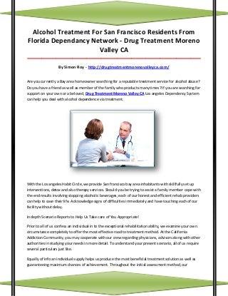 Drug treatment moreno valley ca