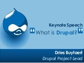 State of Drupal keynote, DrupalCon Chicago