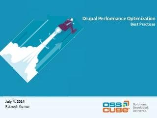 Drupal performance optimization Best Practices