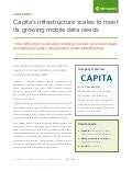 Case Study: Capita's infrastructure scales to meet its growing mobile data needs