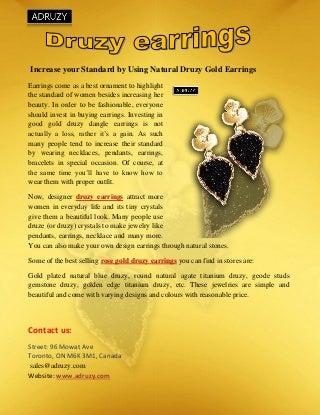 gold earrings sydney