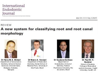 New Root Canal Classification System