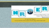 National Repository of Open Educational Resources (NROER)