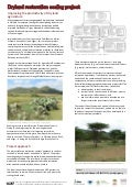 Dryland restoration scaling project: Improving the productivity of dryland agriculture