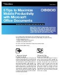 5 Tips to Maximize Mobile Productivity with Microsoft Office Documents: Enable Secure File Sharing and Mobile Productivity