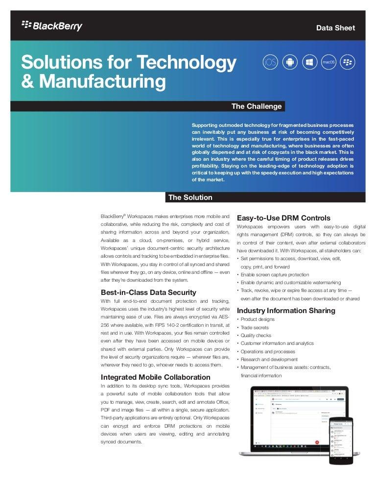 Application blackberry pdf