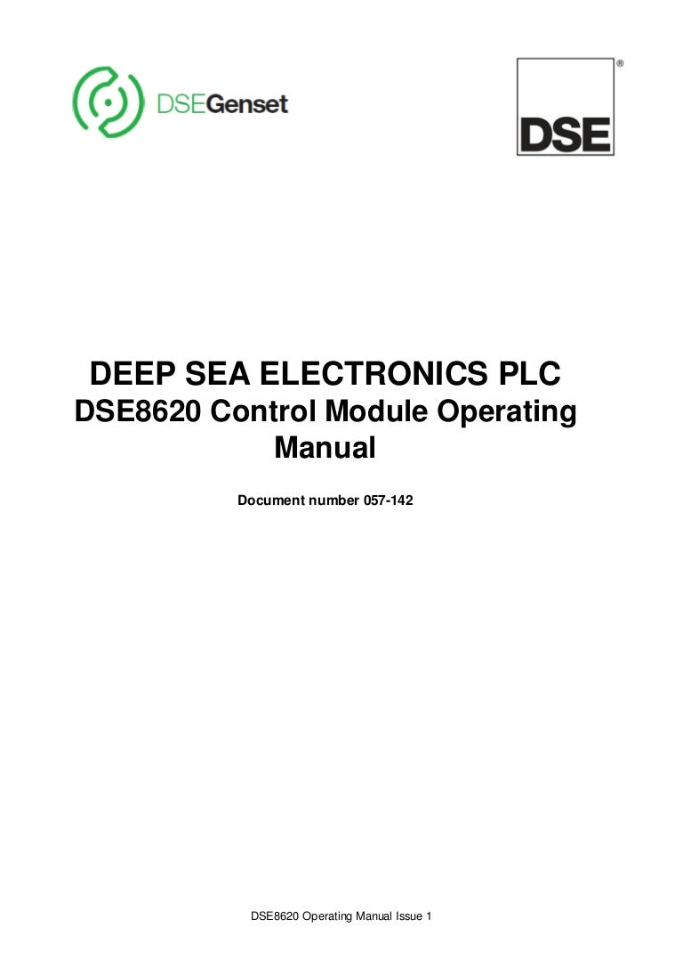 Dse8620 Operators Manual Watt Led Driver Circuitconstant Current 300ma 12v View