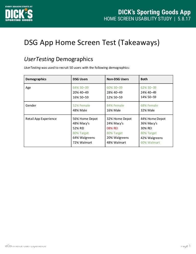 App Home Screen Card Study