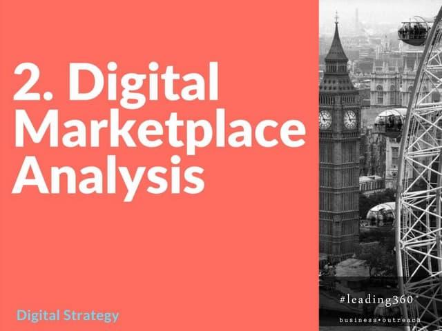 Digital Marketplace Analysis
