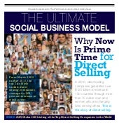 """The Wall Street Journal Pullout  ''Why its Prime Time for Direct Selling """""""