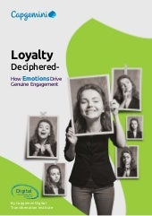 Loyalty Deciphered — How Emotions Drive Genuine Engagement
