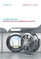 The Digital Utility Plant: Unlocking value from the digitization of production