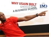 Why Usain Bolt should run a business school.