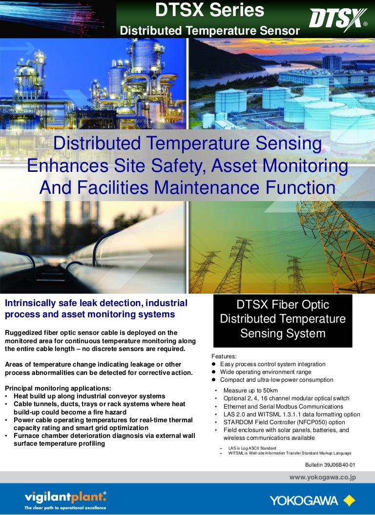 Dtsx Series Distributed Temperature Sensor Sensing And Control