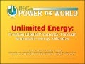 Unlimited Energy: Creating Global Prosperity Through Renewable Energy Solutions