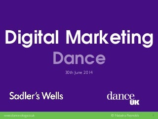 Business of Dance - Digital Marketing