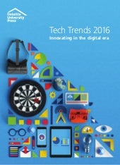 Delloite  tech trends 2016