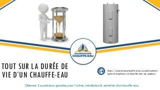 Coût : Changement Chauffe Eau Electrique Horizontal Sarcelles (Professionnel)